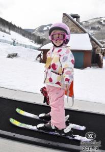 Little skier!