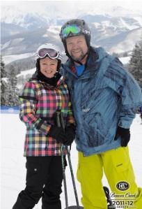 Valentine's ski!
