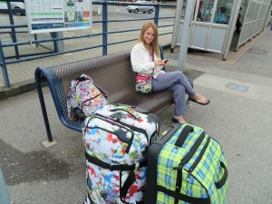 Waiting for the train to London Waterloo! (At Poole Station)