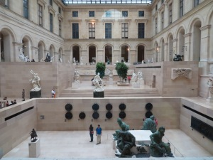 The Louvre inside