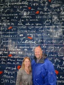 The Wall of Love in Montmartre