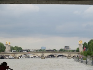 The bridges on the Seine are so ornate!