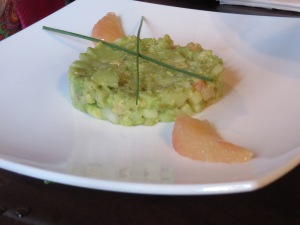My avocado tartar