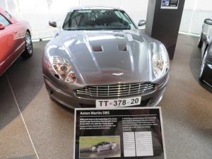 James Bond's Aston Martin before.....