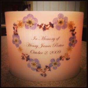 Henry's Memory Candle